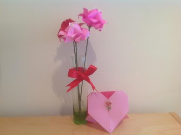 atelier d'origami chez rose cafe