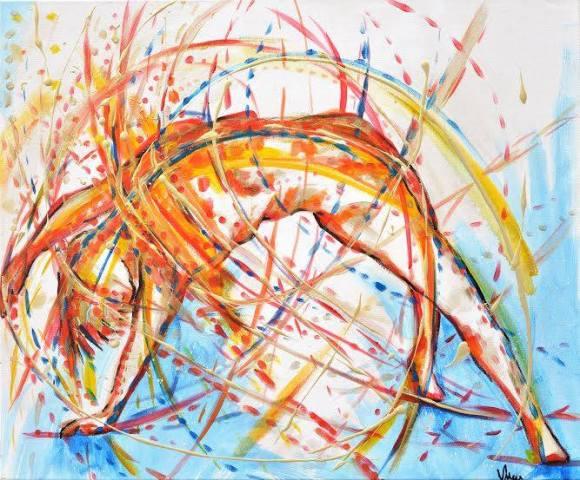 Art médicinal Art Viviane Lacombe